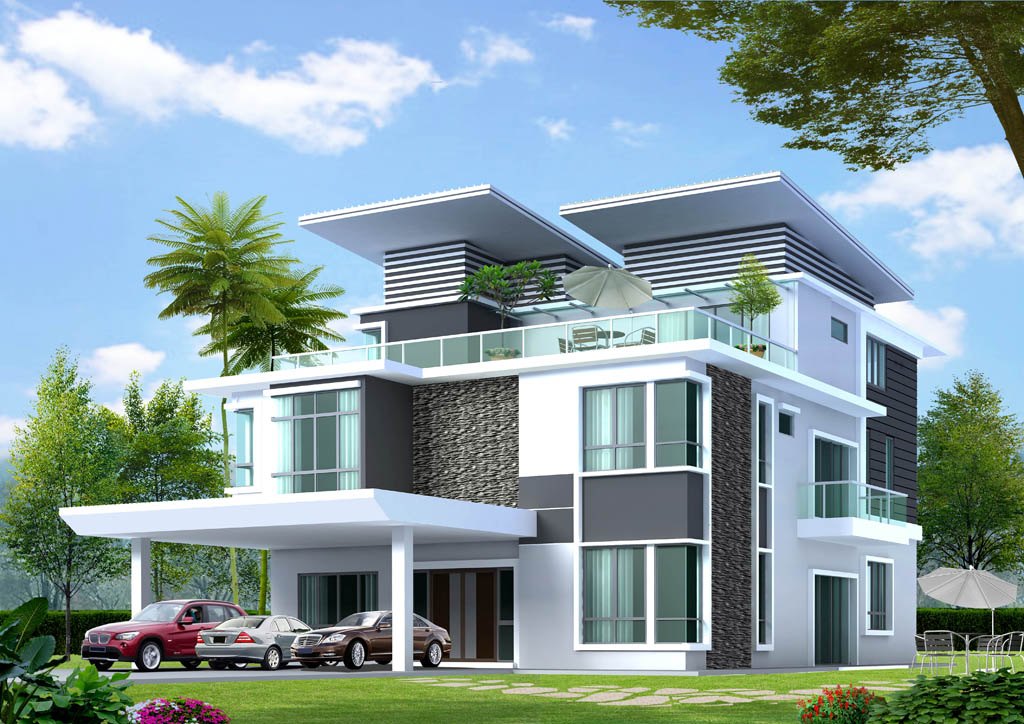 3 Storey Bungalow With Sky Garden Klang Property Finance