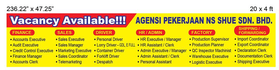 ASSISTANT HR & ADMIN MANAGER, KAPAR | Klang Job Vacancy | 吧生 工作机会